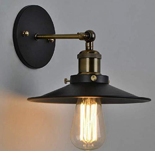 Lightsjoy Retro Wandleuchte industrielampe Regenschirm Deckenleuchte Industrie Verstellbar Metall E27 Hängeleuchte Lampefassung loft für Wohnzimmer Schlafzimmer Esszimmer Esstisch Küche Bar Flur usw.