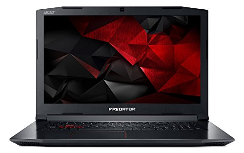 Acer Predator PH317-51-73XK PC Portable Gamer 17' FHD Noir (Intel Core i7, 8 Go de RAM, 1 To + SSD 128 Go, NVIDIA GeForce GTX 1050Ti, Windows 10)