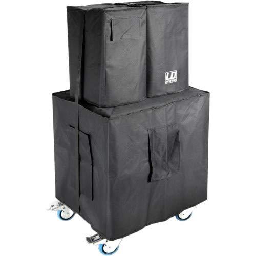LD Systems DAVE 10 G3 Schutzhüllenset + Rollbrett - Keller Rack