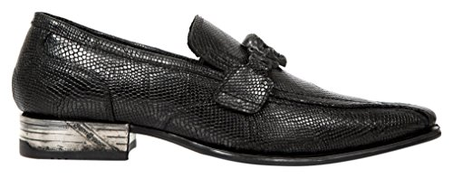 New Rock M Nw154 S1, Mocassins Homme Noir (Black)