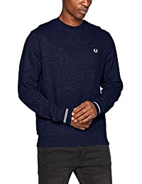 Fred Perry Fp Crew Neck, Pull Sport Homme