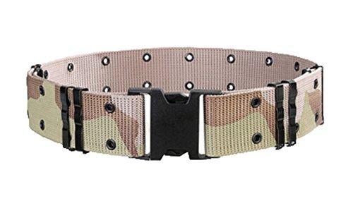 Huateng Cinturón táctico militar al aire libre Cinta ajustable respirable poroso del...