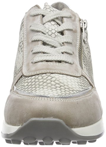 Remonte Dorndorf - d1800, Scarpe da ginnastica Donna Grigio (Grau (steel/argento/kiesel / 42))