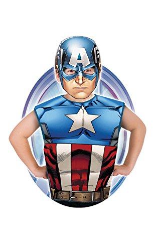 Rubie s Frankreich–Marvel Heroes Kit degui Captain America, i-620969, Einheitsgröße (Captain America Erwachsene Kit)