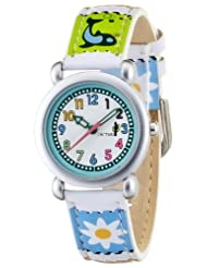 CAC Girls Watch with White Dial and Picture Filmstrip Strap CAC-33-L04