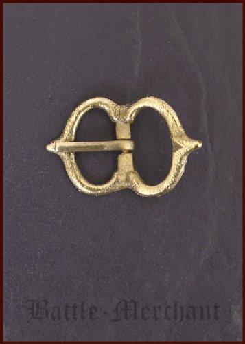 Spätmittelalter Schnalle aus Messing, Nr. 22 - Riemenbreite: bis ca. 26 mm