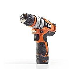 AEG Cordless Compact Drill BS 12C2/1, 5Ah, 1 Unit, 4935448464