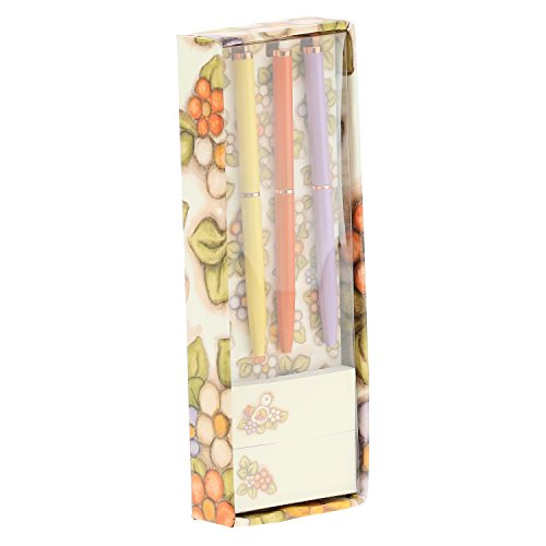 THUN Country Set 3 Mini Penne per Gli Appunti, 15.5 x 5.5 x 2.3 cm