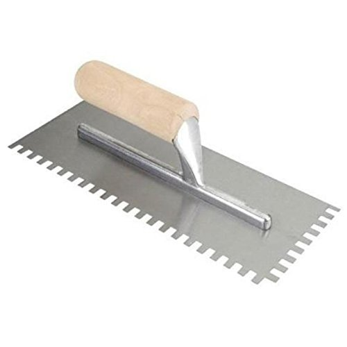 Qep Tile Tools 49714Q ProSeries Notched Trowel by Qep Tile Tools - Qep Tile Tools