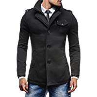 BOLF Herrenmantel Mantel Jacke Wintermantel MIX