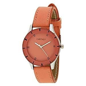 CARTNEY Analogue Pink Dial Women's Wrist Watch
