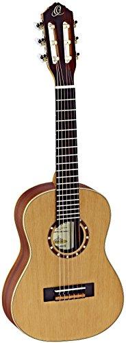 Ortega R122-1/4 Konzertgitarre (Größe: 1/4, natur satiniert, Luxus Gigbag)