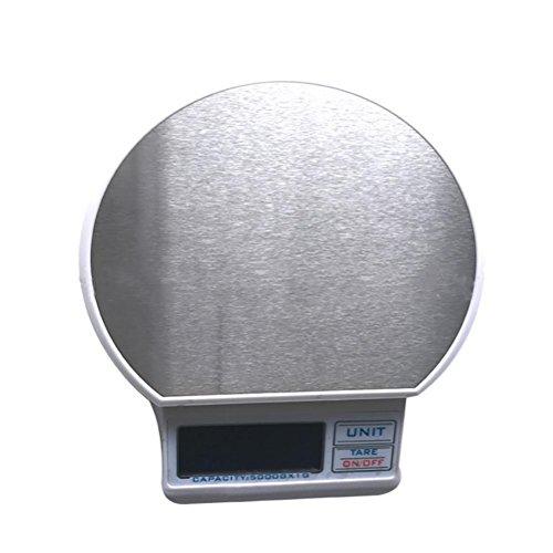 JMung'S Digitale Küchenwaage Elektronische Sagte 5Kg / 1G USB HochpräZise Edelstahl Waagen Kochen Dessert KüChe Zu Hause TB-01