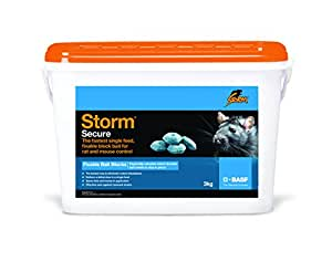 BASF Storm Blocs raticides/souricides en cire à fixer 3 kg