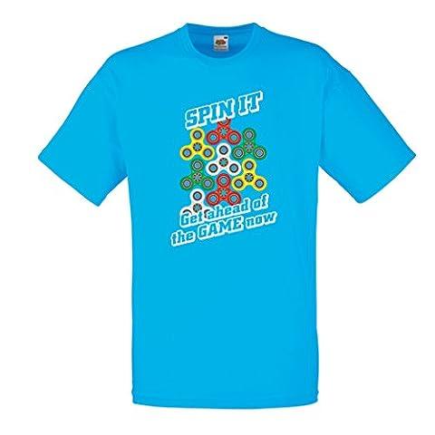 Männer T-Shirt Für Fidget Spinner Spielzeug Enthusiasten - Stress Reducer