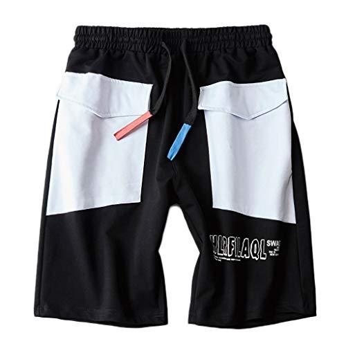 huge sale 07000 f5290 Pantalones Cortos Hombre,YanHoo Troncos de natación de Secado para Hombres  con Pantalones Cortos de