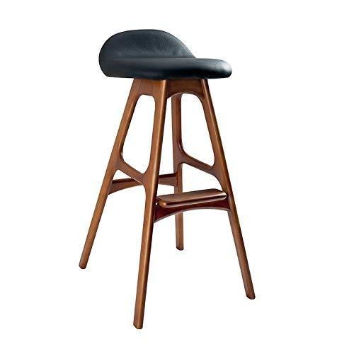 Chaise de Salle à Manger/siège de Bar,Chair Solide Bois café/Restaurant / Caisse Haute Chaise, Salon/réception / Salon de beauté/Coiffeur Mode Chaise/Tabouret,39,5 * 46 * 80 cm,* 05
