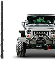 هوائي قصير KSaAuto مناسب لسيارة Jeep Wrangler JK JKU JL JLU Rubicon Sahara Gladiator 2007-2021   استبدال هوائي