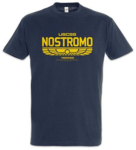 USCSS Nostromo IV T-Shirt - Prometheus Corporation Weyland Alien Yutani Logo Größen S - 5XL (XXL)