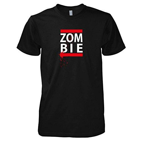 TEXLAB - Zombie Splash - Herren T-Shirt Schwarz