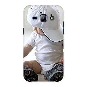 Enticing Hip Hop Cute Boy Back Case Cover for Galaxy J1