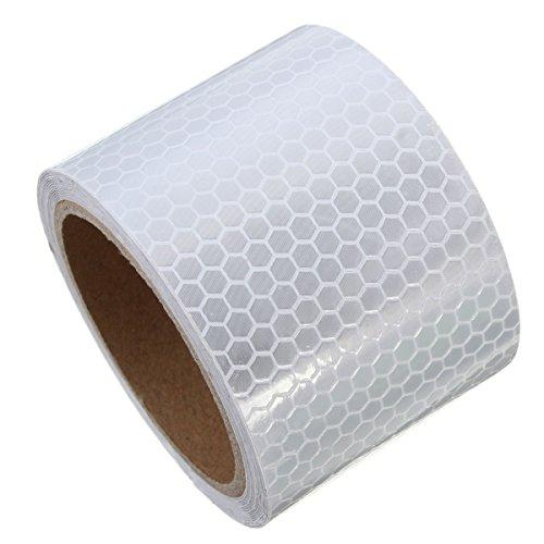 Bravehope K1503ZON516I93M Aufkleber, 5cm*3m, weiß