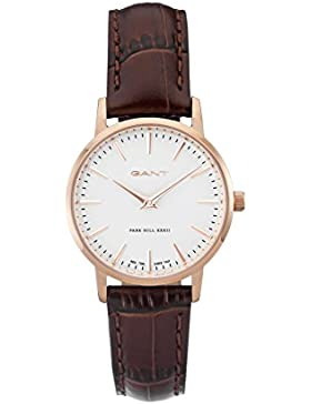 GANT TIME Damen-Armbanduhr PARK HILL 32 Analog Quarz Leder W11402