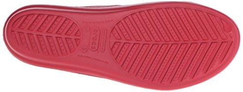 Crocs Donna Sanrah Smussato Cerchio Sandalo Pepe / Stucco
