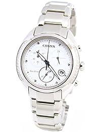 Citizen damen armbanduhr lady chronograph quarz fb1140 51d