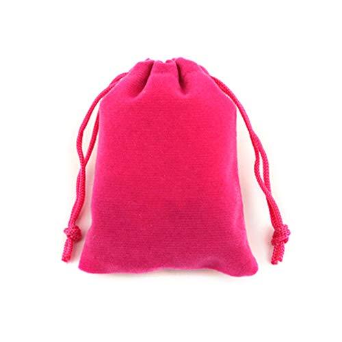 Haodou Rosa Roja Regalo La Joyería Lazo Terciopelo
