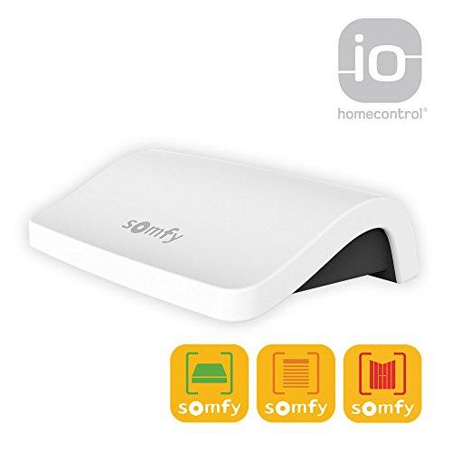 Intuitive Steuerung (Somfy Connexoon Bidirektionale io-Steuerung | Haussteuerung über Smartphone Handy App | Hausautomatisierung mit vielen intelligenten Lösungen für maximalen Wohnkomfort)