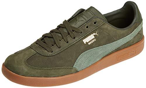 Puma Unisex-Erwachsene Madrid NBK Sneaker, Grün (Forest Night-Laurel Wreath 03), 40 EU - Laurel Leder