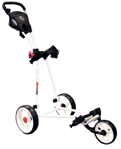 Longridge Uni Golf Trolley Eze Glide Cruiser, Weiß