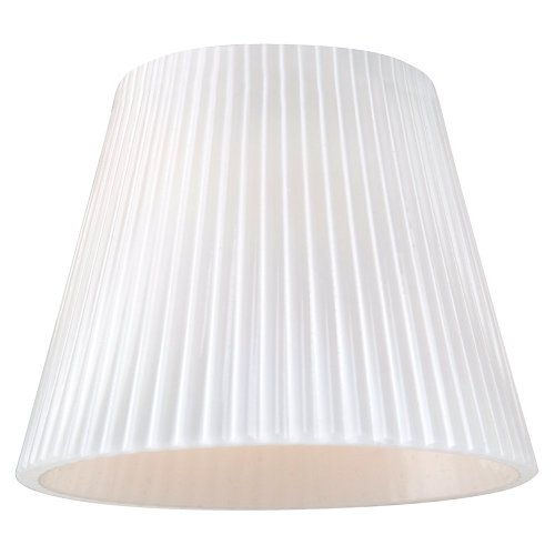 Cased Opal Shade (Sea Gull Lighting 94391-6125 Ambiance Cased Opal Ripp Mini-Glass Shade)