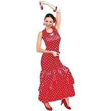 Guirca - Disfraz adulta flamenca, Talla 38-40 (80629.0)