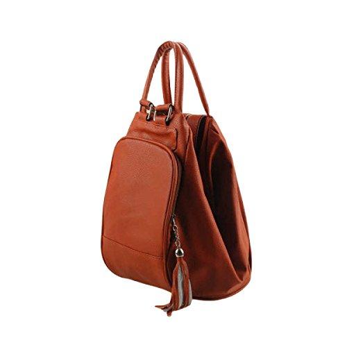 Einfache Art Und Weise Handtaschen Schulter Diagonal Handtasche Schultertasche Rucksack Reisetasche Orange