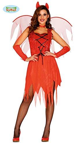 Guirca Gallischer–Kostüm Devil mit Flügel Womens, L, ()