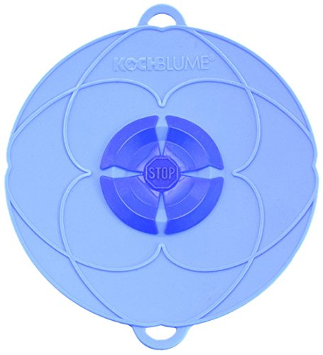 Kochblume Deckel Blume XXS, Silikon, Blau, 16.5cm
