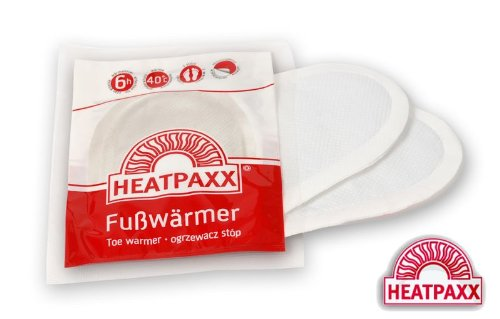 10 HeatPaxx Fusswärmer Wärmepad für 6 Std. Aktivkohle