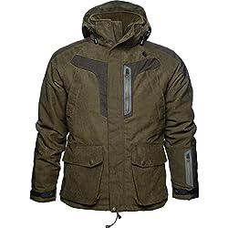 Seeland–Helt-Pro Jacket | Grizzly Brown | Chaqueta de Caza | Chaqueta de Invierno | Multiusos Chaqueta, Color Grizzly Brown, tamaño 52
