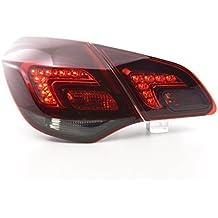 at73046LED–Faros traseros para Opel Astra J 5puertas Bj. 10De Color Rojo/Negro