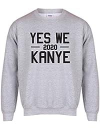 Yes We Kanye, 2020 - Grey - Unisex Fit Sweater - Fun Slogan Jumper