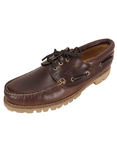 Docksteps Very Big Size Leather Boat Shoes Made in Italy EU51