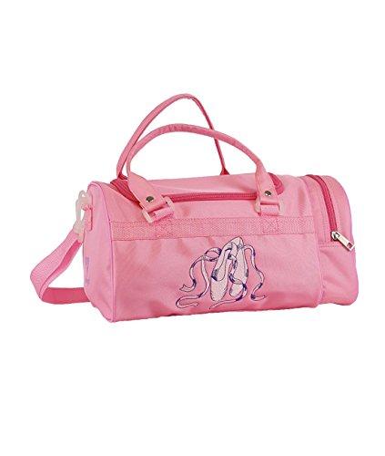 Ballett-Tasche 261 für Mädchen Farbe pink für Ballett Tanz Fitness Sport Freizeit Gymnastik Beutel Geschenk