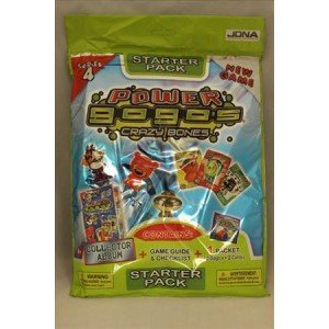 New - Gogos Crazy Bones Series 4 Starter Pack - Series 4 Card Album & by Crazy Bones (Bones-serie 4 Crazy)