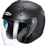 Nexo Motorradhelm, Halbschalenhelm, Jethelm Jethelm Comfort mattschwarz XS, Unisex, Chopper/Cruiser,...