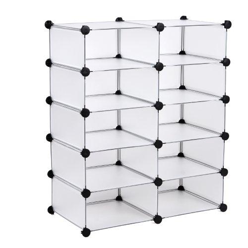 songmics-scarpiera-armadio-armadietto-guardaroba-scaffale-cubi-mobiletto-modulare-bianco-75-x-37-x-9
