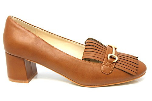 Mr Shoes , Escarpins pour femme marron marron 16 peau