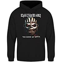 Iron Maiden Book of Souls Mens Hoodie: X Large