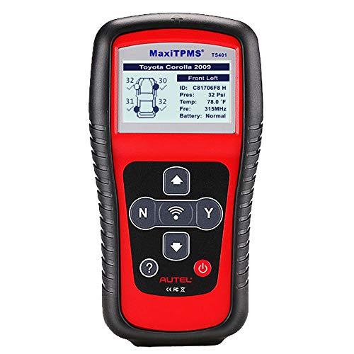 Autel Dispositivo de diagnóstico Herramientas de diagnóstico-Sistema de Control de Presión de Neumáticos TPMS de Equipo de impresión y TPMS anlernen, TS401
